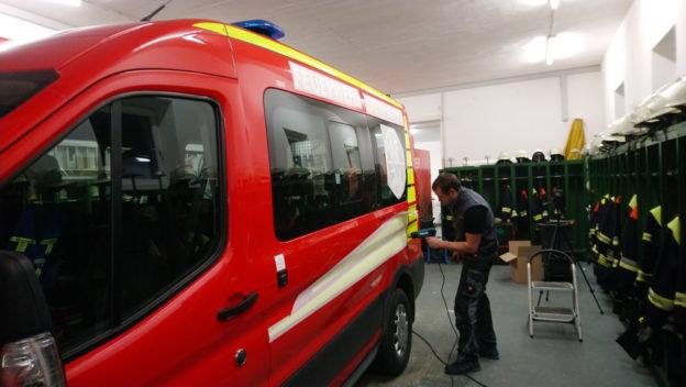 Neues Design für die Feuerwehrfahrzeuge